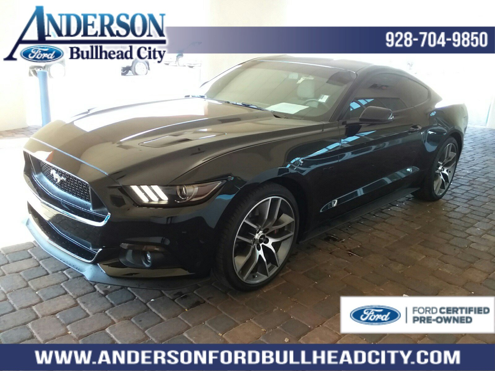 Certified Pre Owned  Ford Mustang Gt Premium